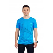 Футболка AN-225, цвет: синий, AVIAMERCH™