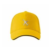 """Кепка пилота """"Самолёт"""", AVIAMERCH™, цвет: жёлтый"""