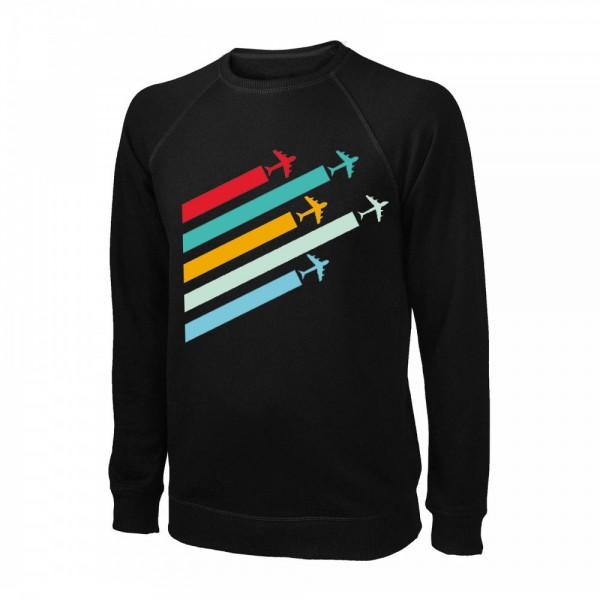 Свитшот Planes, цвет: чёрный, AVIAMERCH™