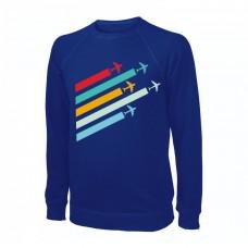Свитшот Planes, цвет: электрик, AVIAMERCH™