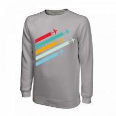 Свитшот Planes, цвет: серый, AVIAMERCH™