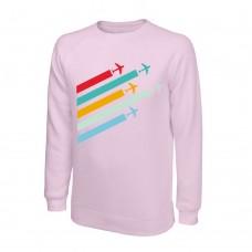 Свитшот Planes, цвет: розовый, AVIAMERCH™