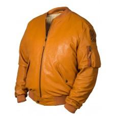 Кожаная куртка бомбер ВMС США Tom Cat Art.320, Airborne Apparel™