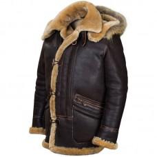 """Куртка из овчины с капюшоном """"B-7 Arctic Parka"""" Art.208, Airborne Apparel™"""