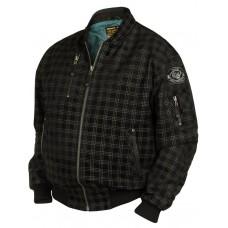 Куртка- бомбер Jolly Rogers замшевая, Art.313, Airborne Apparel™