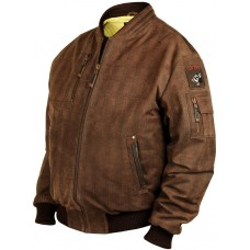Куртка- бомбер Pantere Nere замшевая, Art.312, Airborne Apparel™