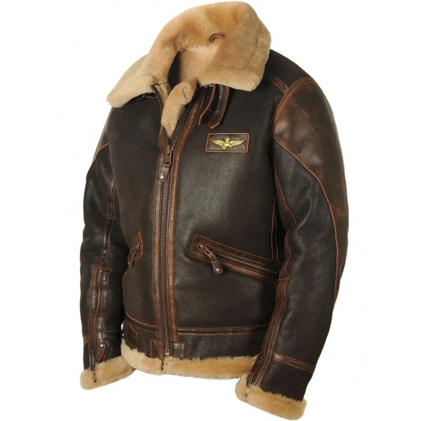 "Куртка из овчины ""Пилот B-3 Marina Militare"" Art.204, Airborne Apparel™"
