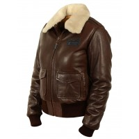 Куртка пилот женская A-2 Lucky Art.901, Airborne Apparel™