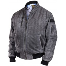Куртка- бомбер Tigers замшевая, Art.311, Airborne Apparel™