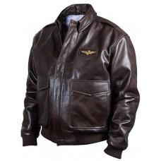 Куртка лётная Bomber brown Art.333, Airborne Apparel™