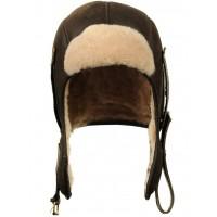 Шлем лётный из натуральной овчины PILOT B-6, Art.12, Airborne Apparel™