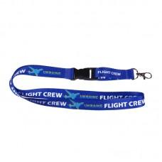 """Ремешок для бейджа """"Flight crew"""""""