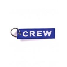 """Брелок """"Crew"""" blue"""