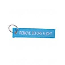 """Брелок """"Remove Before Flight"""" light blue"""