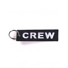 """Брелок """"Crew"""" black"""