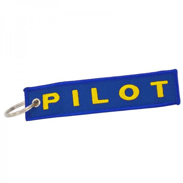 """Брелок """"Pilot"""" синий"""