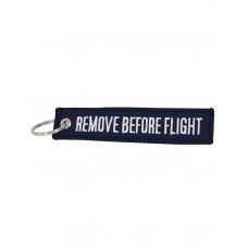 "Брелок ""Remove Before Flight"" navy blue"