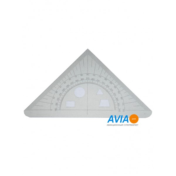 Навигационный треугольник-транспортир