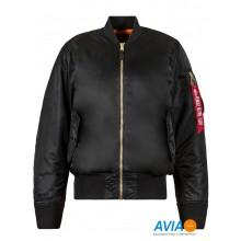 Куртка MA-1 Flight Jacket чёрная Alpha Industries™