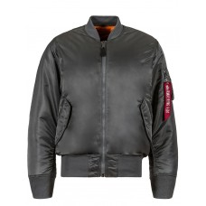 Куртка MA-1 Flight Jacket, gun metal, Alpha Industries™