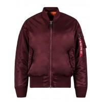 Куртка MA-1 Flight Jacket, maroon, Alpha Industries™