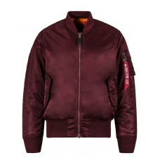 Куртка MA-1 Flight Jacket, maroon, Alpha Industries™