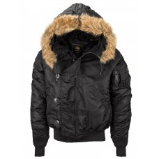 Куртка N-2B Parka, black, Alpha Industries™