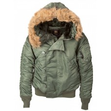 Куртка N-2B Parka, sage green, Alpha Industries™