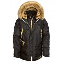 Куртка N-3B Inclement parka, black, Alpha Industries™