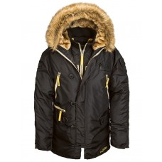 Куртка N-3B Inclement parka, black, Alpha Industries™