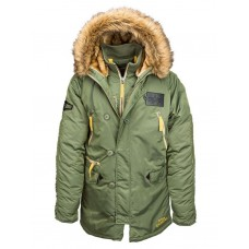 Куртка N-3B Inclement parka, sage, Alpha Industries™