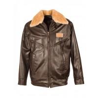 Куртка мужская кожаная Aviator