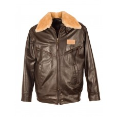 Leather Jacket Aviator