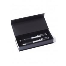 Набор ручек Boeing™ Ballpoint and Rollerball Pen Boxed Set (gun metal)