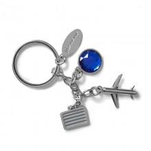 Брелок Boeing™ Airplane and Suitcase Charm Keychain