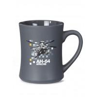 Чашка Boeing™ AH-64 Apache Pixel Graphic Mug