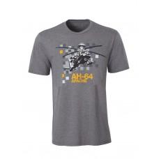 Футболка Boeing™ AH-64 Apache Pixel Graphic T-Shirt