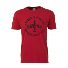 "Футболка Boeing™ ""Leader in Aviation T-Shirt"", цвет: red"