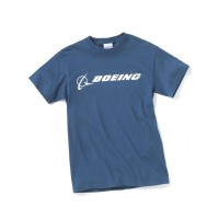 "Футболка Boeing™ ""Signature T-Shirt Short Sleeve"", цвет: blue dusk"