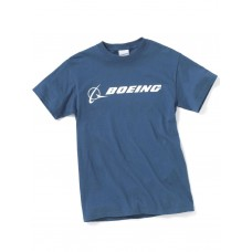 "Футболка Boeing™ ""Signature T-Shirt Short Sleeve"", цвет: blue dusk"