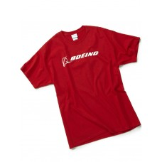 "Футболка Boeing™ ""Signature T-Shirt Short Sleeve"", цвет: red"