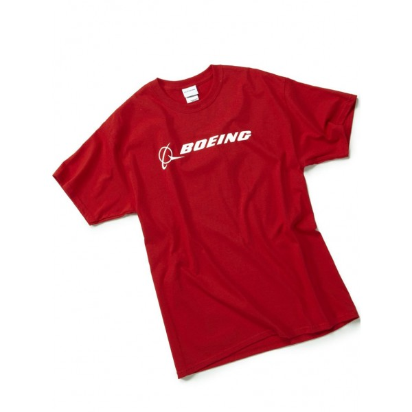 "Футболка Boeing™ ""Signature T-Shirt Short Sleeve"", цвет: red"