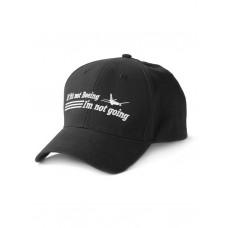 "Кепка Boeing™ ""If It's Not Boeing, I'm Not Going Hat"", цвет: чёрный"