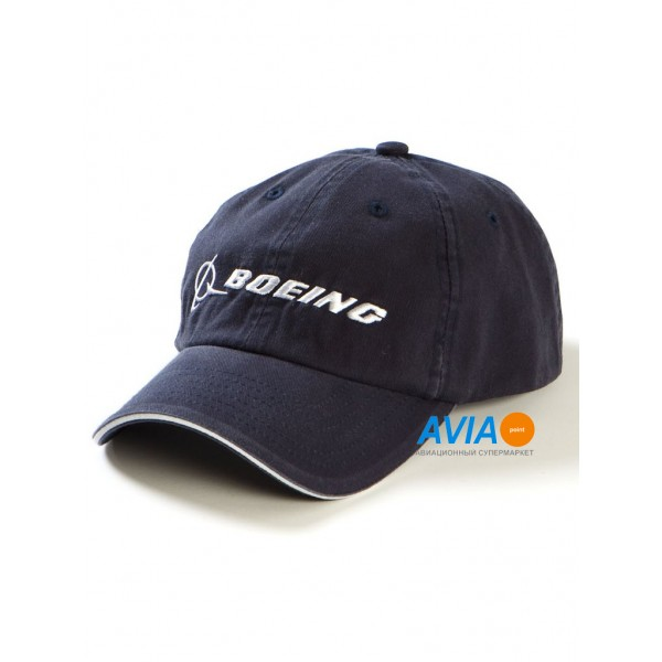 "Кепка Boeing™ ""Chino Hat"", цвет: тёмно-синий"