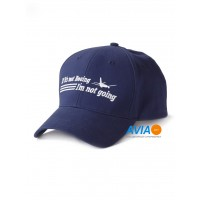 "Кепка Boeing™ ""If It's Not Boeing, I'm Not Going Hat"", цвет: синий"