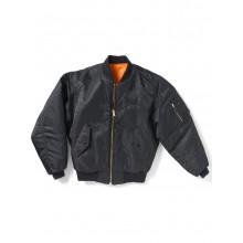Куртка MA-1 Flight Jacket чёрная Boeing™