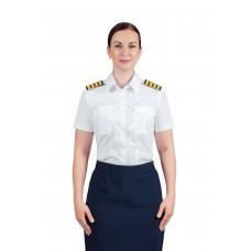 """Рубашка форменная женская с коротким рукавом """"Lux short"""" CODIRISE™"""