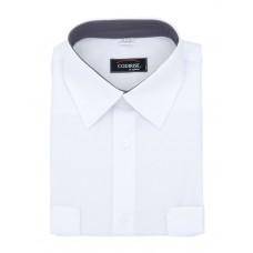 """Рубашка форменная с длинным рукавом белая """"Premium"""" CODIRISE™"""