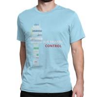 "Футболка ""Air traffic controll"" Цвет: светло-голубой"