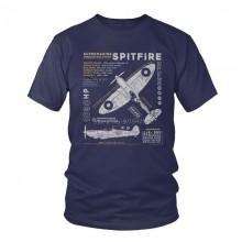 "Футболка ""Spitfire"" Цвет: navy blue"